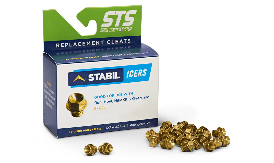 Brass replacement cleats and packaging