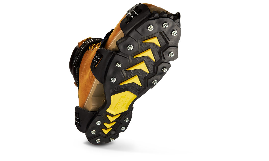 STABILicers Maxx2 on outdoor work boot